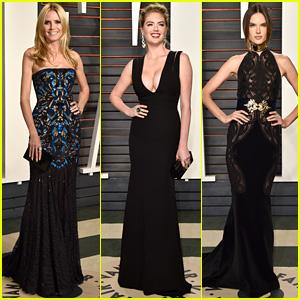 Heidi Klum & Kate Upton Party After the Oscars with 'Vanity Fair'!