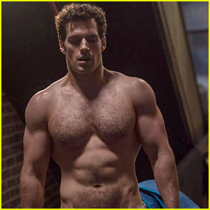 Henry Cavill Goes Shirtless for Workout Progress Photo!