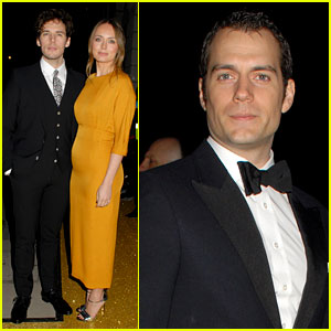 Henry Cavill & Sam Claflin Suit Up for BAFTA Fundraising Gala