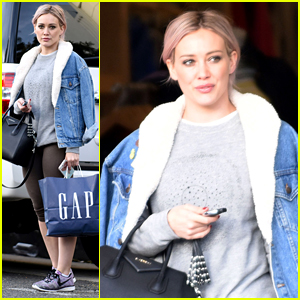 Hilary Duff is All About Good Vibes