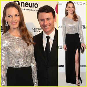 Hilary Swank Brings Boyfriend Ruben Torres to Oscars Party