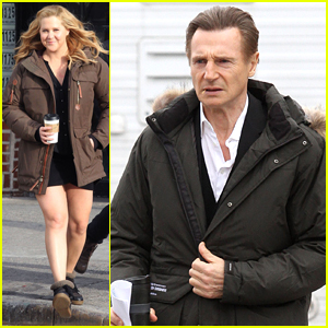 Liam Neeson Films with Amy Schumer After Those Girlfriend Comments