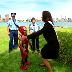 Iron Boy Granted Wish, Robert Downey Jr. Makes Him Honorary Avenger - Watch Now!