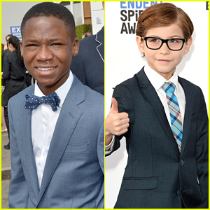 Jacob Tremblay & Abraham Attah Hit Universal Studios Together Before Independent Spirit Awards 2016