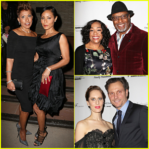 Jada Pinkett-Smith Brings Mother Adrienne to Debbie Allen's 'Freeze Frame' Premeire!