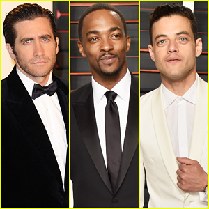 Jake Gyllenhaal, Anthony Mackie & Rami Malek Make Vanity Fair Oscar Party 2016 A Stud Fest!