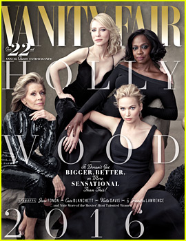 Jennifer Lawrence & More Land on Vanity Fair's Annual Hollywood Issue!