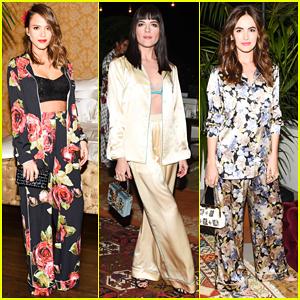 Jessica Alba, Selma Blair & More Slip Into Their PJ's For Dolce & Gabbana Pyjama Party!