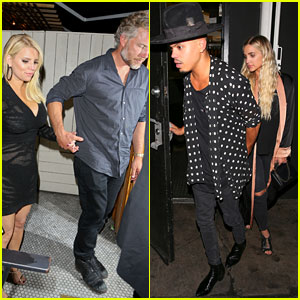 Jessica Simpson Has a Double Date Night with Sister Ashlee