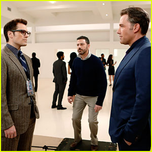 Jimmy Kimmel Debuts Fake 'Batman v Superman' Deleted Scene with Ben Affleck & Henry Cavill!
