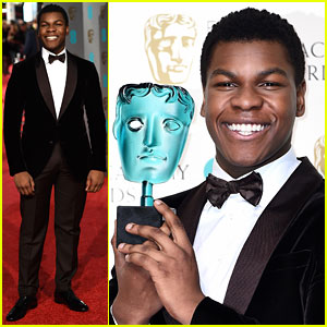 John Boyega Wins Rising Star Award at BAFTAs 2016!