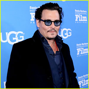 Johnny Depp Accepts Modern Master Award at SBIFF