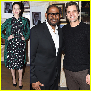 Joshua Jackson & Emmy Rossum Celebrate Forest Whitaker's Broadway Debut 'Hughie'!