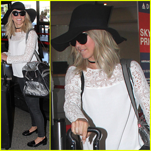 Julianne Hough Heads Off On Trip After 'DWTS' Announcement