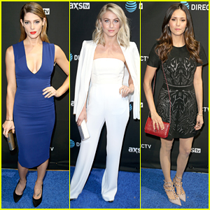 Ashley Greene Hits Two Events In One Night Ahead of Super Bowl 50