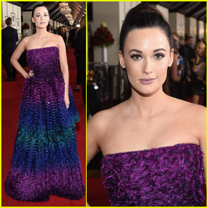 Best Country Album Nominee Kacey Musgraves Hits the Red Carpet at Grammys 2016