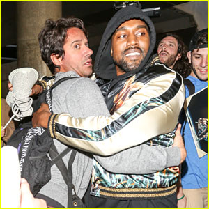 Kanye West Breaks Up Paparazzi Fight at LAX Airport (Video)