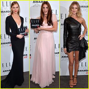 Karlie Kloss & Lana Del Rey Win Big at Elle Style Awards!