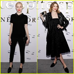 Kate Bosworth & Jaime King Attend Kate Spade Fashion Show