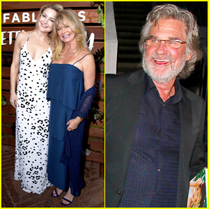 Kate Hudson Gets Support From Mom Goldie Hawn & Kurt Russell At 'Pretty Happy' Launch Party!