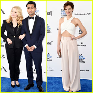 Kate McKinnon & Kumail Nanjiani Get Ready to Host Independent Spirit Awards 2016