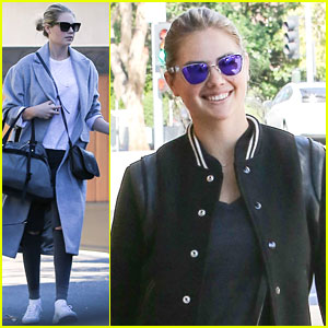 Kate Upton Takes Her Workout Kegels Seriously (Video)