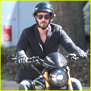 Keanu Reeves Rides Solo After Wrapping 'John Wick 2'