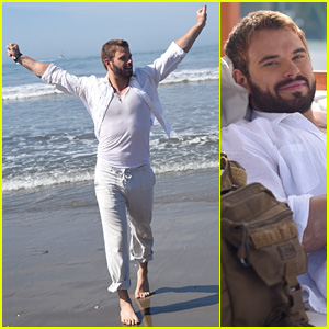 Kellan Lutz Celebrates Months of Hard Work with a Mexico Vacation!