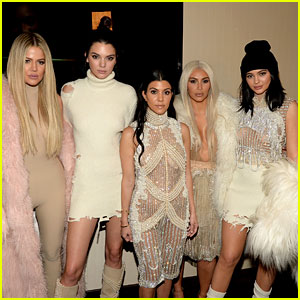 Kendall & Kylie Jenner Are White Hot at Yeezy Season 3 Show