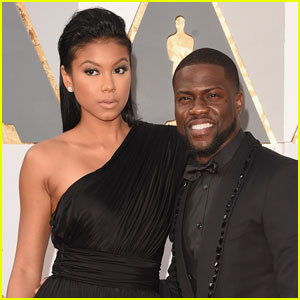 Kevin Hart Hits Oscars 2016 Carpet with Fiancee Eniko Parrish