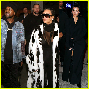 Kim Kardashian & Kanye West Celebrate Yeezy Season 2 Zine Launch!