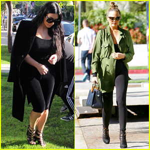 Kim Kardashian & Chrissy Teigen Shop for Baby Items at Bel Bambini!