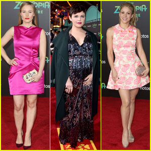 Kristen Bell & Ginnifer Goodwin Bring 'Zootopia' to Hollywood
