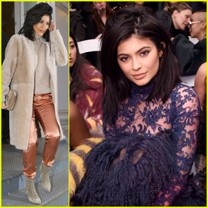 Kylie Jenner Sits Front Row at VFILES Fashion Show