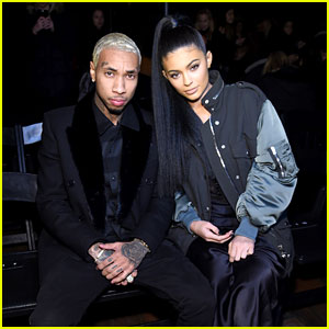 Kylie Jenner & Tyga Couple Up Front Row at Alexander Wang NYFW 2016 Show