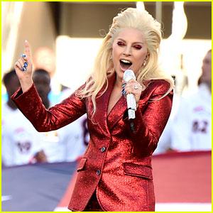 Lady Gaga Sings National Anthem at Super Bowl 2016 (Video)