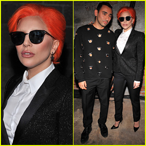 Lady Gaga Looks So Chic for Nicopanda NYFW Show