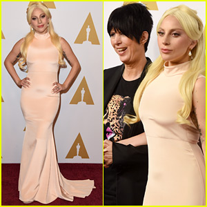 Lady Gaga Hits the Oscars 2016 Luncheon After Amazing Super Bowl Performance!