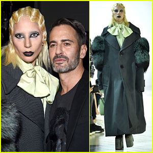 Lady Gaga Walks the Runway for Marc Jacobs' NYFW Show