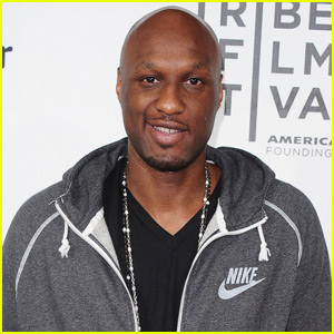 Lamar Odom Takes Solo Trip to a College Baseball Game