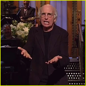 Larry David 'Can't Wait to Leave' His 'SNL' Opening Monologue - Watch Now