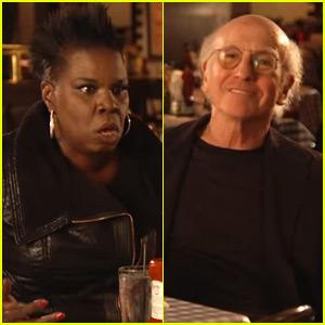 Larry David & Leslie Jones Can't Stop Bickering in Funny 'SNL' Promos - Watch Now!