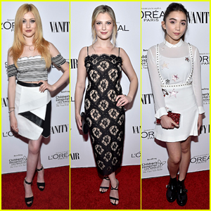 Katherine McNamara & Zoe Levin Head Out to DJ Night with Vanity Fair & L'Oreal