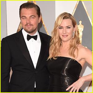 Leonardo DiCaprio & Kate Winslet Reunite at Oscars 2016 (Photos)
