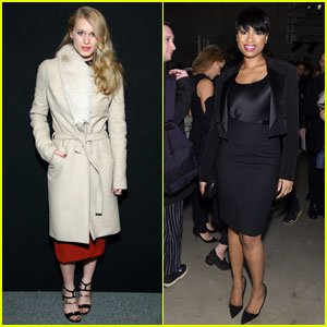 Leven Rambin & Jennifer Hudson Enjoy NYFW Festivities