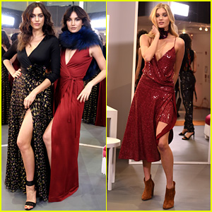 Irina Shayk & Lily Aldridge Walk the Runway for DVF's NYFW 2016 Show!