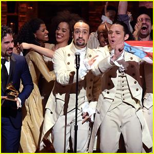 Hamilton's Lin-Manuel Miranda Raps His Grammys 2016 Acceptance Speech