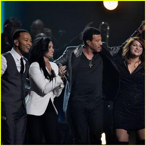 John Legend, Luke Bryan, & More Pay Tribute to Lionel Richie at Grammys 2016