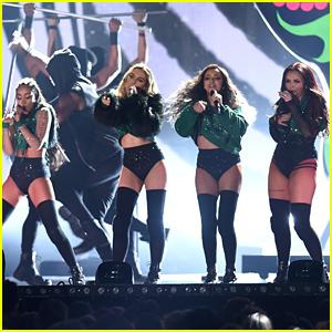 Little Mix Perform 'Black Magic' at BRIT Awards 2016