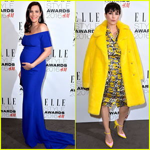 Liv Tyler Cradles Growing Baby Bump at Elle Style Awards